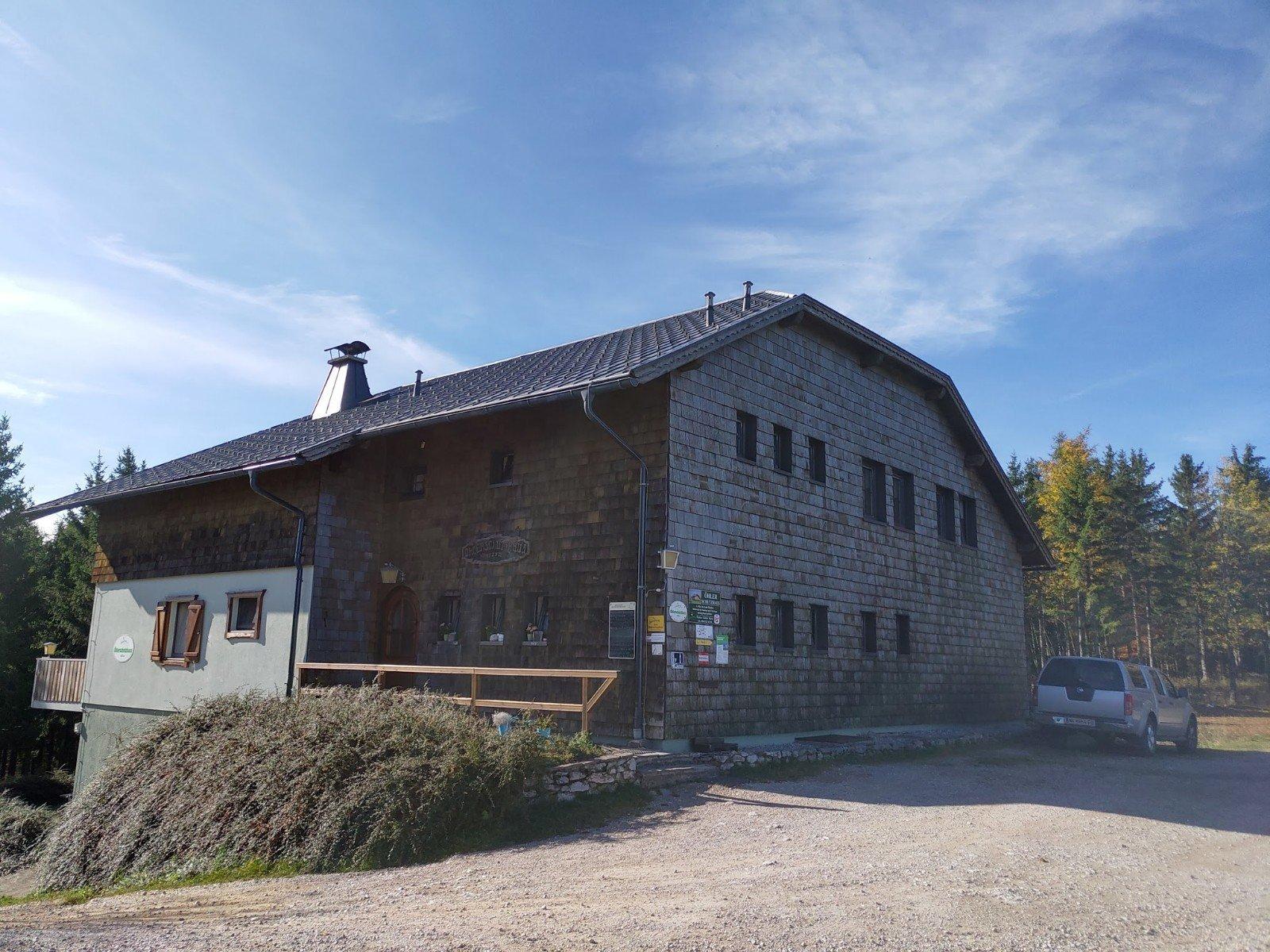 Das Öhlerschutzhaus per se