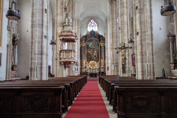 Ich bin (mit einem leichten Umweg über den Anninger) von Wien nach Mödling gewandert