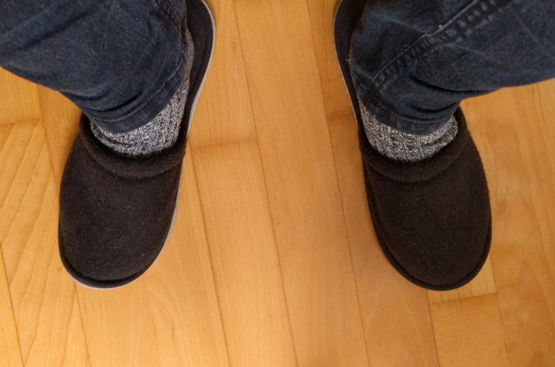 So verbringen meine Füße derzeit den Großteil ihrer Freizeit.