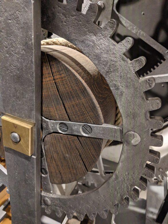 So sieht die Astronomische Uhr in Prag von innen aus