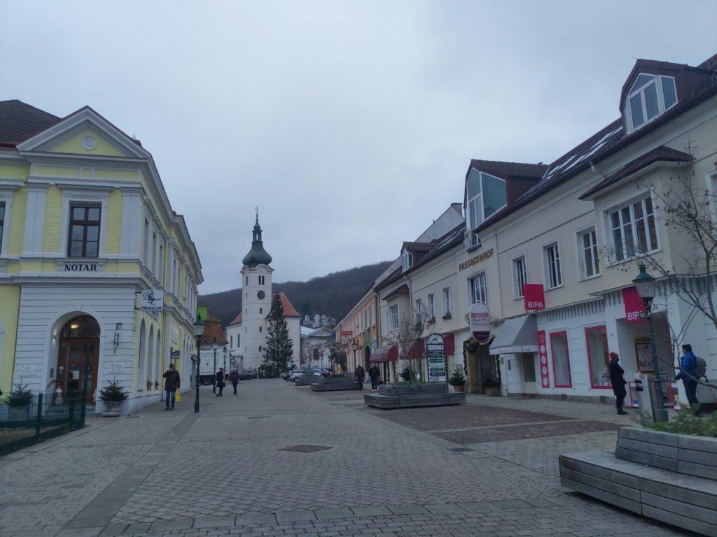 Hauptplatz von Purkersdorf
